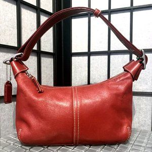 Authentic COACH G33-9564 Hobo in Red